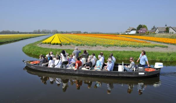 Boottrip around the flowerfields